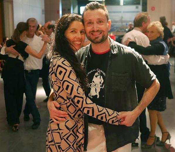 Roxina Villegas and Francesco Pugliese